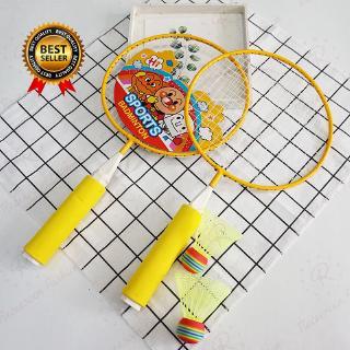 Bread Superman Badminton Racket Funny Parent-child Game Garden Kids Gift Exercise Educational Badminton Toys For Boys And Girls