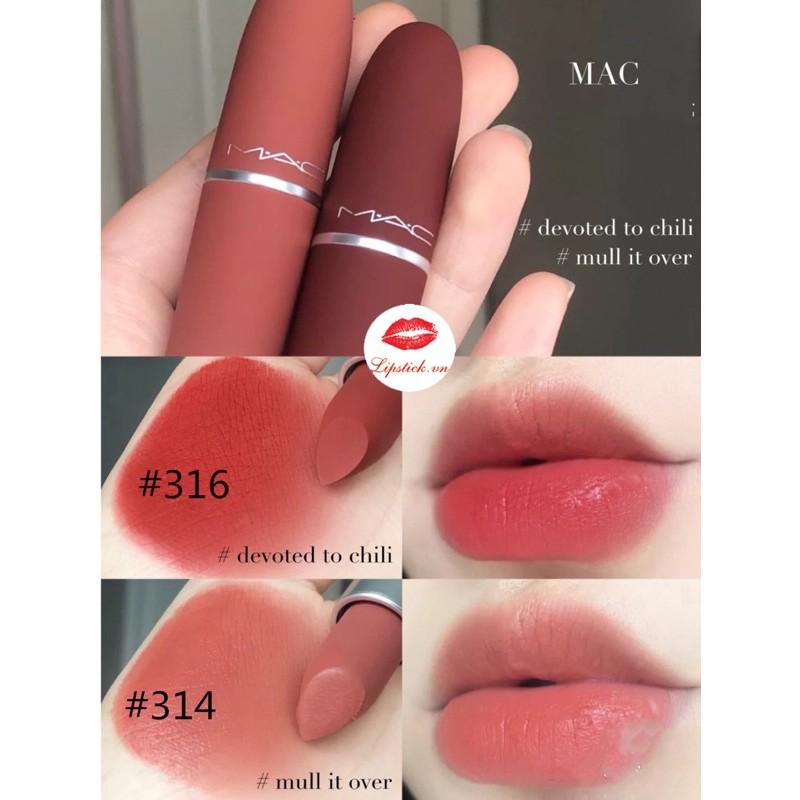 Son Mac Limited Valentine Phiên Bản Giơi Hạn, Bộ Sưu Tập MAC đủ bảng màu hot nhất