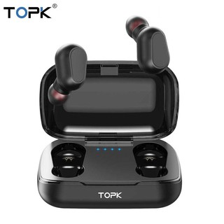 Tai nghe nhét trong không dây mini kết nối Bluetooth hiệu TOPK
