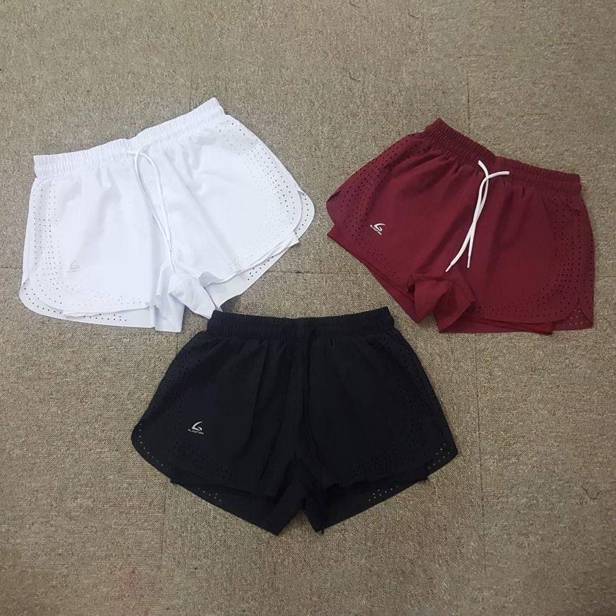 [Mã WASEPRN hoàn 20% xu đơn 99k] Quần đùi boxer không viền tập gym, chạy bộ, aerobic