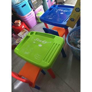 Bộ Bàn Ghế Nhựa Thông Minh Enfa Cho Bé 3 – 7 Tuổi