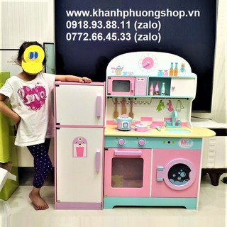 bộ đồ chơi nhà bếp bằng gỗ – bộ đồ chơi nhà bếp gỗ
