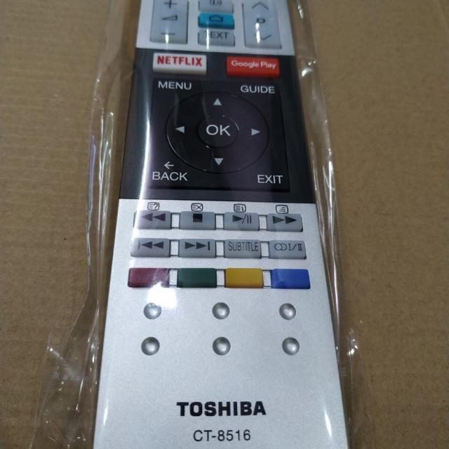 [Mã 267ELSALE hoàn 7% đơn 300K] Remote Tivi TOSHIBA 8516!