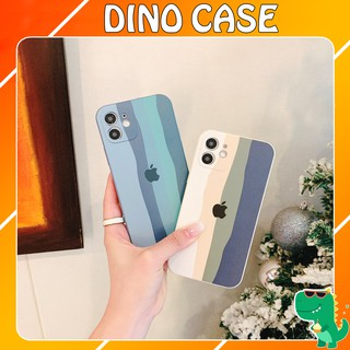 Ốp lưng iphone Color cầu vồng cạnh vuông BVC 6/6plus/6s/6splus/7/7plus/8/8plus/x/xs/11/12/pro/max/plus/promax Link 2