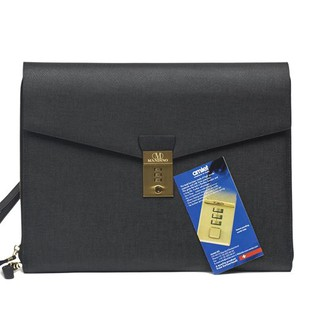 Clutch Macbook 13″ Đen – Saffiano
