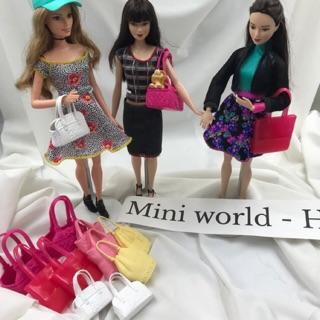 Túi xách ba lô búp bê Barbie chính hãng. Mã Túi G8