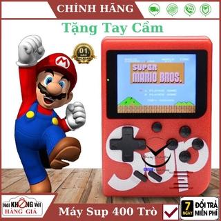 ( Kèm tay cầm 2 người chơi ) Máy Chơi Game Sup 400 Game In 1 Retro , bảo hành chính hãng thumbnail