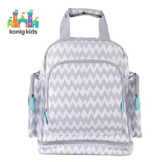 Túi đựng đồ cho mẹ và bé Đựng Tã Lót Đa Năng Chống Thấm Nước giữ nhiệt - có ngăn đựng laptop - Konig Kids 201809 thumbnail