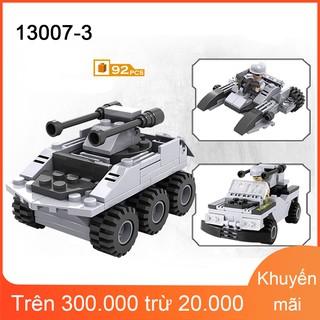 Bộ Lego xếp hình COGO Tàu ngầm trang bị vũ khí (3 trong 1) 94 khối