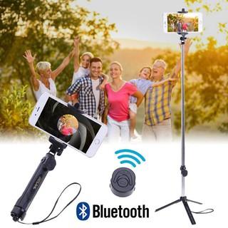 Gậy tự sướng 3 chân tripod Bluetooth có Remote tripod giá rẻ – H_Shop_VN