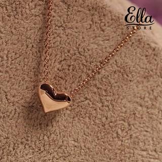 Dây chuyền mạ vàng phối mặt hình trái tim đơn giản thời trang Ne7 3