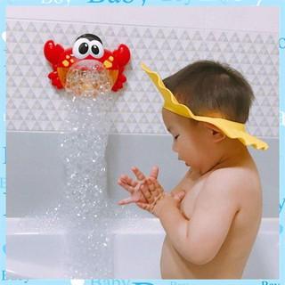 [HÀNG ĐỘC] Đồ chơi Cua thổi bong bóng có nhạc cho bé
