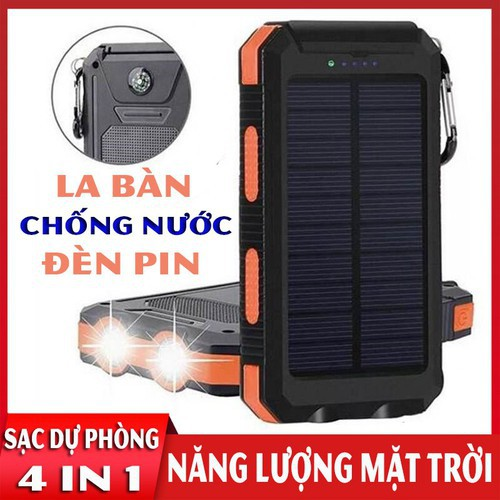 Pin sạc dự phòng năng lượng mặt trời 25000mAh