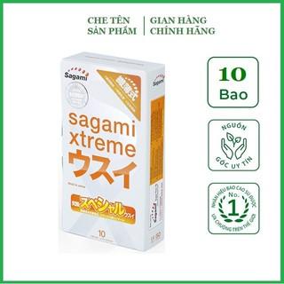 [Chính hãng] Bao Cao Su Siêu mỏng Sagami Xtreme Super Thin - Nhật Bản (Hộp thumbnail