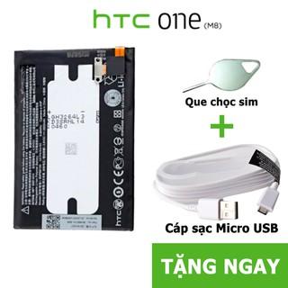 Pin, Phụ kiện HTC One M8 E8 BOP6B100 BH 3 tháng thumbnail