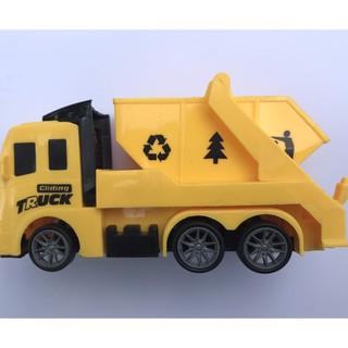Mô hình xe tải đồ chơi dành cho bé size nhỏ có bánh đà, siêu ưu đãi 5