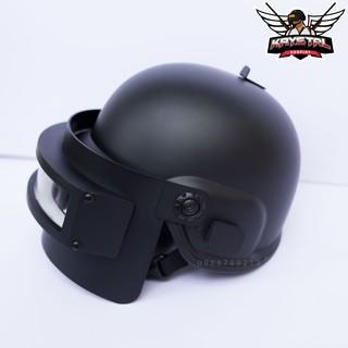 Mũ 3 PUBG Cosplay dưới dạng nón bảo hiểm.