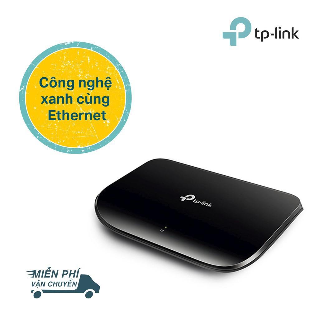 Bảng giá Phụ kiện SIÊU RẺ_ TP-Link Switch gigabit 5 cổng RJ45 Tăng tốc máy chủ - TL-SG1005D - Hãng phân phối chính thức Phong Vũ