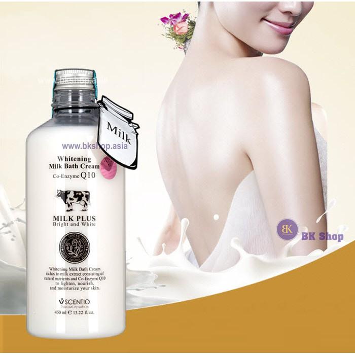 [Date 2020] Sữa Tắm Trắng Da Beauty Buffet Scentio Whitening Milk Bath Co-Enzyme Q10