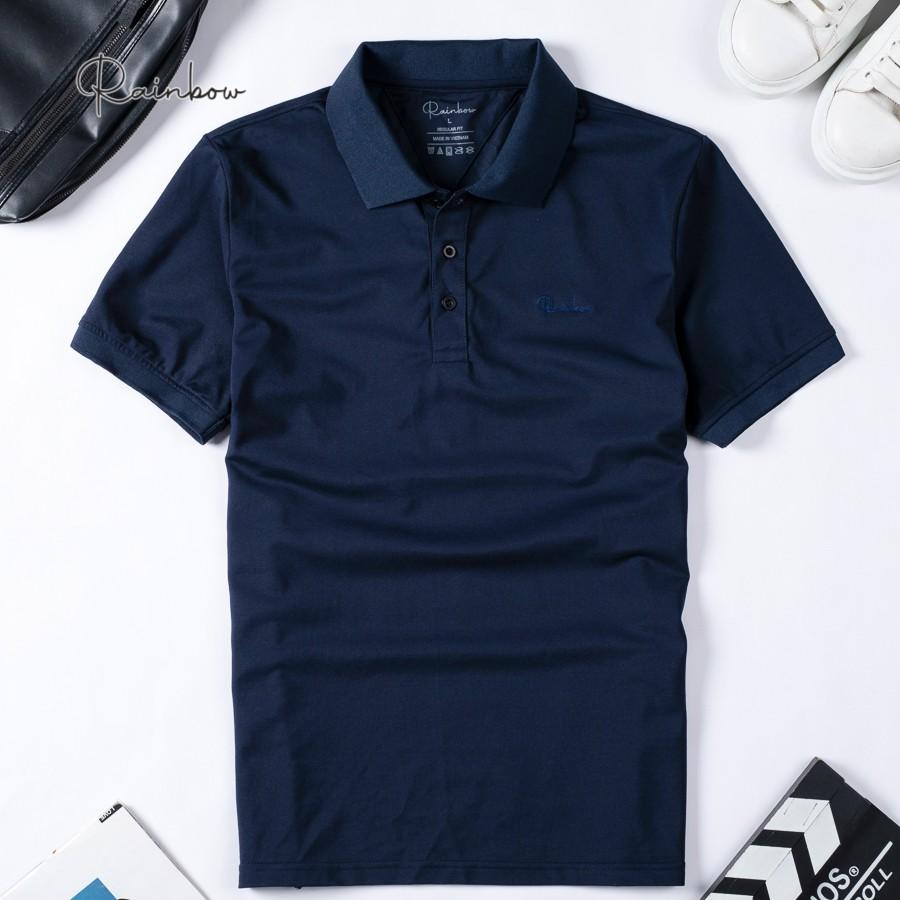 Áo polo nam chính hãng Rainbow SPO001 form Regular Fit chất liệu cotton thấm hút tốt , có size đại