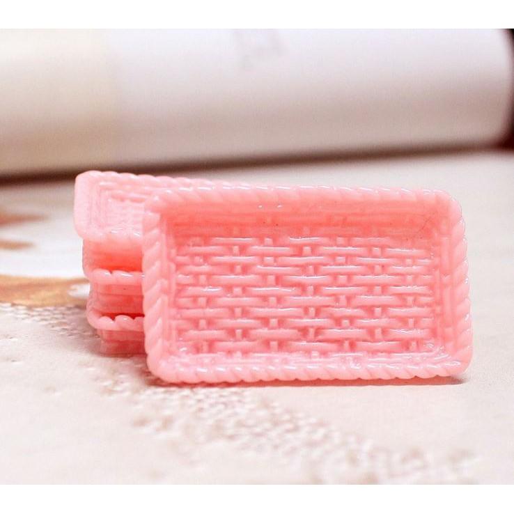 Khay nhựa mô hình mini - chọn màu