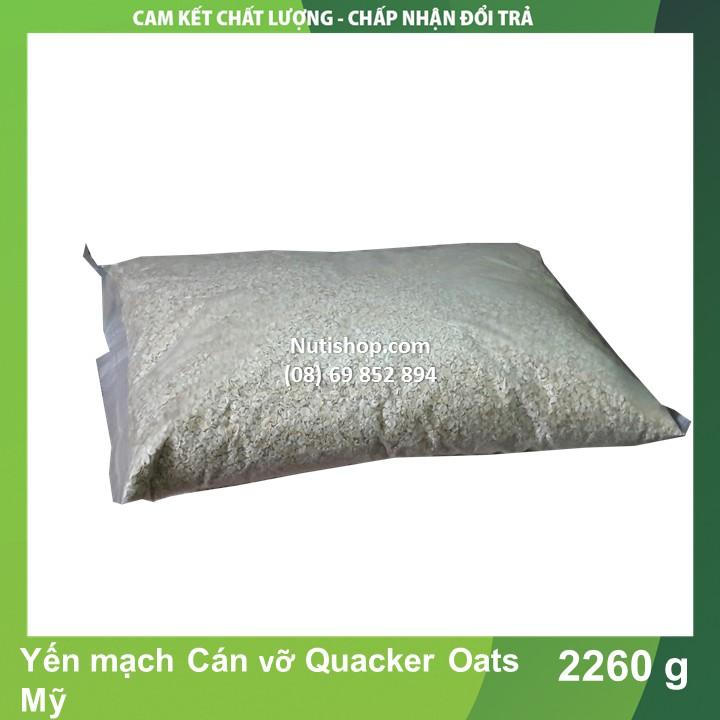 Yến mạch Cán vỡ Quacker Oats Mỹ 2260 g Yến mạch Cán vỡ Quacker Oats Mỹ 2260 g