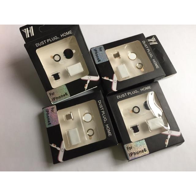 Bộ bảo vệ Camera/Home/Chân sạc/cáp cho iPhone 6/6s [4 món] - 2630935 , 309024776 , 322_309024776 , 50000 , Bo-bao-ve-Camera-Home-Chan-sac-cap-cho-iPhone-6-6s-4-mon-322_309024776 , shopee.vn , Bộ bảo vệ Camera/Home/Chân sạc/cáp cho iPhone 6/6s [4 món]