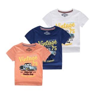 Áo thun trẻ em cao cấp xuất khẩu cotton 100% Simple Heanhe đủ tiêu chuẩn xuất khẩu Châu Âu