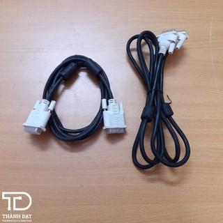 Combo 20 sợi dây cáp DVI xịn theo máy 1.5m, 2 đầu chống nhiễu