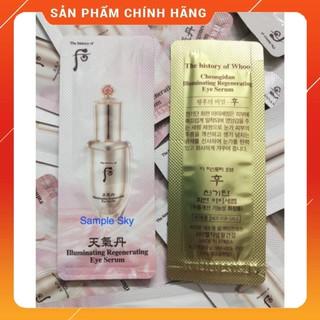 Combo 2 gói Tinh chất trẻ hóa dưỡng vùng da mắt Whoo Cheongidan Llluminating Regenerating Eye Serum thumbnail