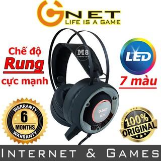 Tai nghe Gaming G-Net H7S – Có đèn led, Dùng được cho điện thoại – BH 12 tháng
