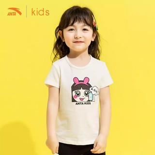 Áo cộc tay bé gái Anta Kids hình chibi xinh xắn 362029115-2 thumbnail