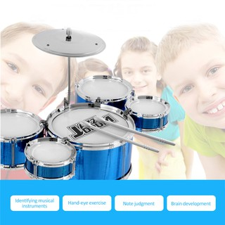 Children's Drum Set Jazz Drum Percussion Instrument Early Education Puzzle