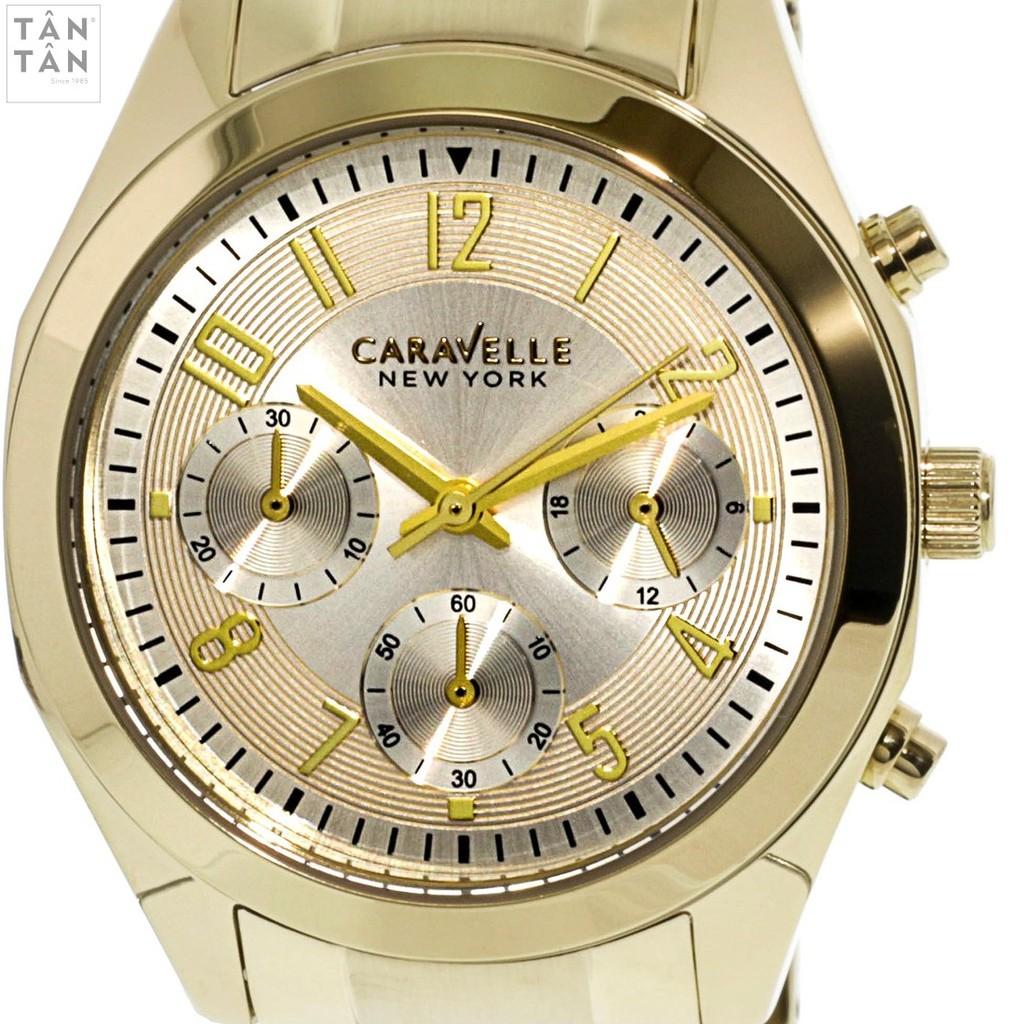 Đồng Hồ Caravelle 44L118 Nữ Pin Chronograph Dây Thép Không Gỉ 36mm