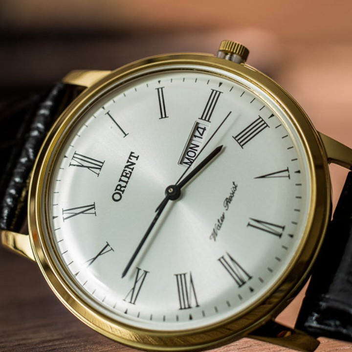 Đồng hồ Nam Orient FUG1R007W6 [ Chính hãng full box ] Bambino Gen 1 , Quartz , dây d