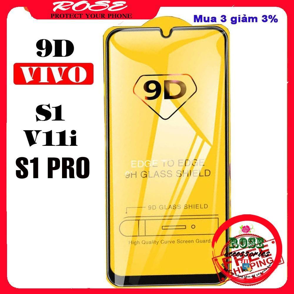 Kính Cường Lực ViVo S1/ S1 PRO/ V11i full màn hình- 9D-9H