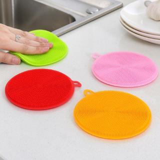 Miếng rửa chén silicone cấp thực phẩm đa năng 8