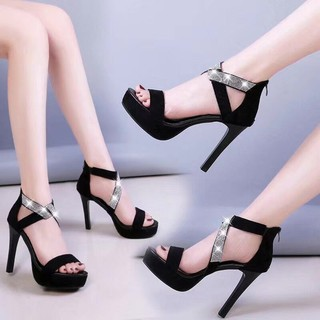 ♘﹍Sexy shoes flirting with super high-heeled bed shoes, men s stiletto hate Tiangao waterproof platform princess nightclub to make a warming artifact