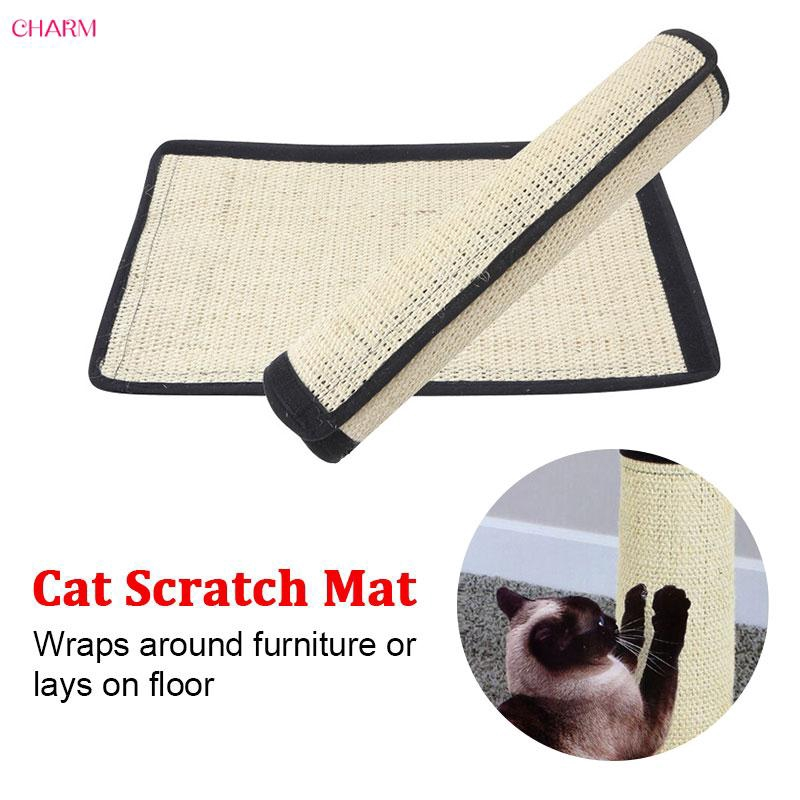CHARM Sisal Hemp Scratching Pad Scratcher Cat Board Protecting