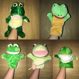 RT02- Rối tay hình con ếch (đồ si tuyển)