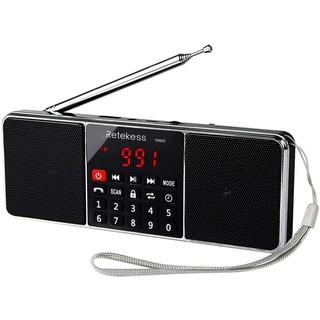 Radio AM FM Không Dây Retekess TR602 Màu Đen Âm Thanh Nổi Hỗ Trợ Thẻ TF USB Có Cổng Vào Aux Màn Hình LED Hẹn Giờ Tắt thumbnail