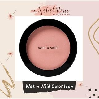 Má hồng Wet n Wild Color Icon màu Mellow Wine mẫu mới