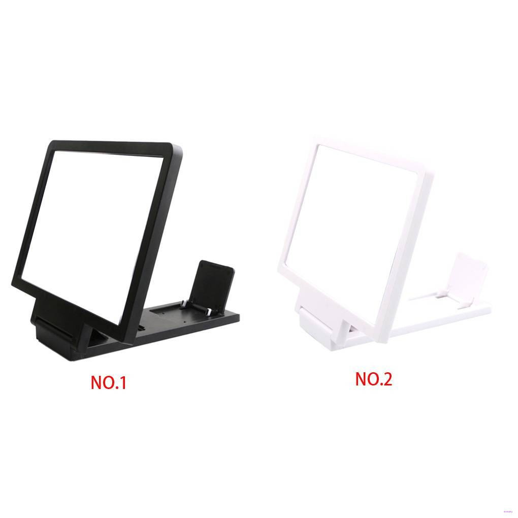 Phone Screen Magnifier Cellphone Projector Enlarged Amplifier Mobile Bracket Holder 3D HD Movie Video Stand