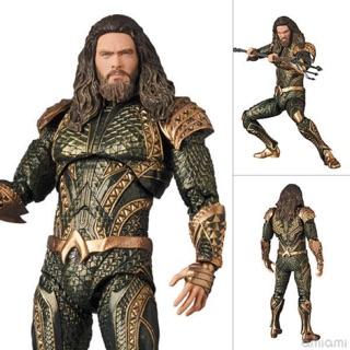Mô hình Aquaman Justice League chính hãng Mafex 061 Medicom Toy