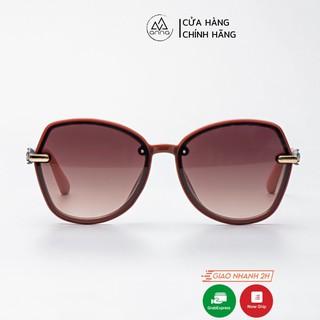 Kính mát thời trang nữ ANNA dáng tròn cách điệu mắt kiếng chống tia UV KR1298