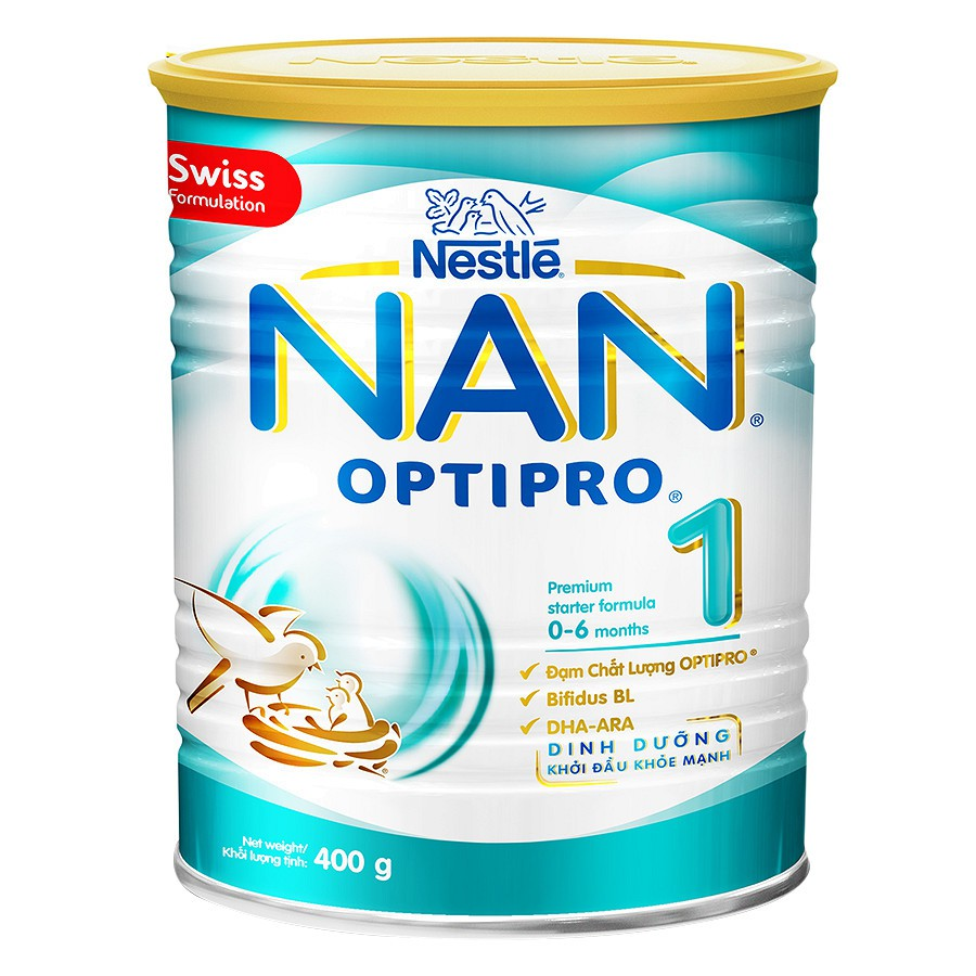 Sữa Bột Nestle NAN Optipro 1 (400g) - 3360217 , 1087306389 , 322_1087306389 , 199500 , Sua-Bot-Nestle-NAN-Optipro-1-400g-322_1087306389 , shopee.vn , Sữa Bột Nestle NAN Optipro 1 (400g)