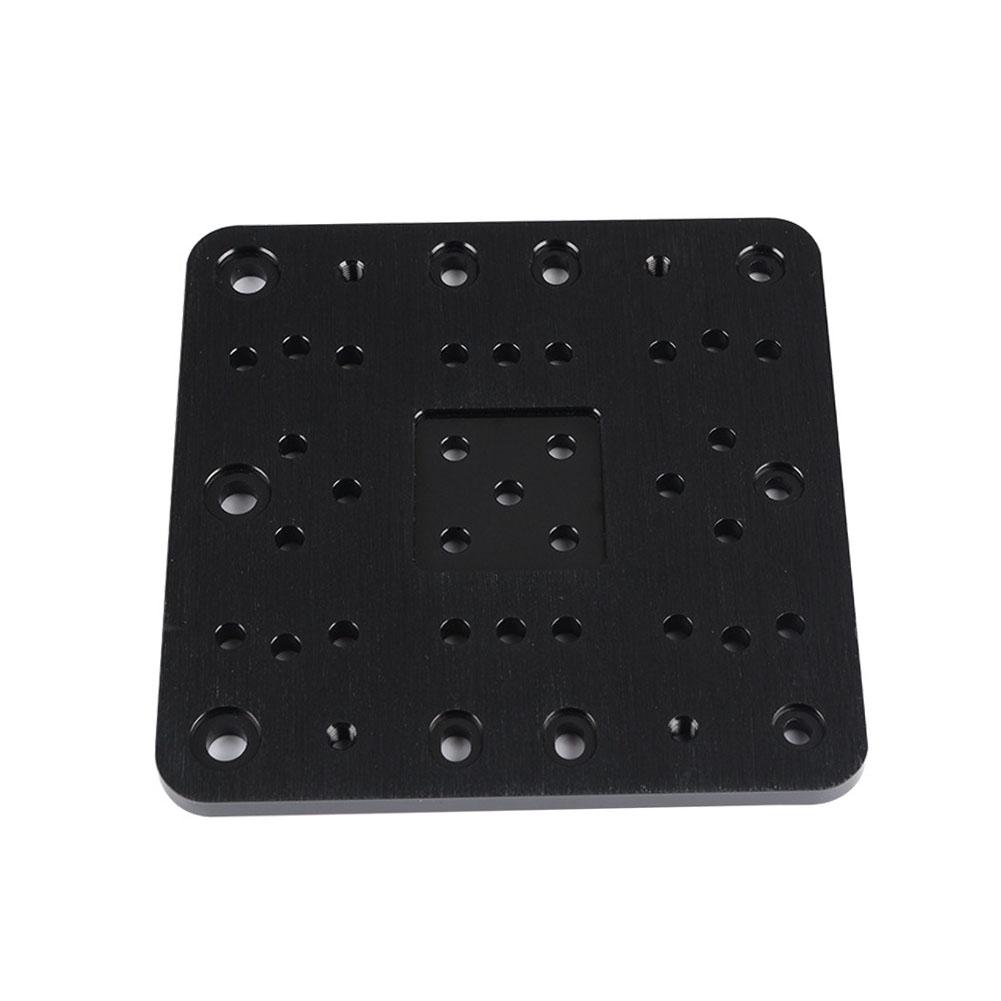 Stable Parts Black Aluminium Alloy CNC Machine Gantry Plate 3D Printer Engraving For C-Beam Giá chỉ 287.000₫