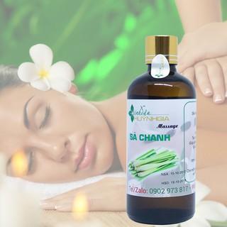 Tinh Dầu Massage Sả Chanh - Dầu Massage Body SẢ CHANH - Dầu Massage Thư Giãn - Dầu Massage Toàn Thân thumbnail
