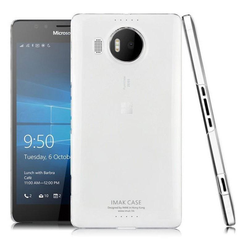 Ốp lưng trong suốt phủ nano cho Lumia 950 Xl  hiệu Imak