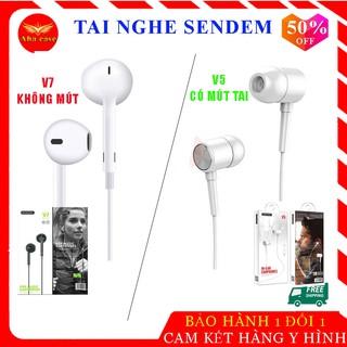 [Rẻ Vô Địch] Tai nghe chính hãng Sendem V5 tai mút và Sendem V7 tai trơn chất lượng âm thanh tuyệt đỉnh, giá siêu rẻ thumbnail